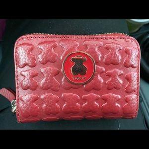 Tous leather Wallet